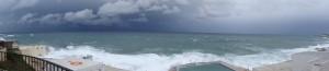 Panorama Sliema auf die See hinaus