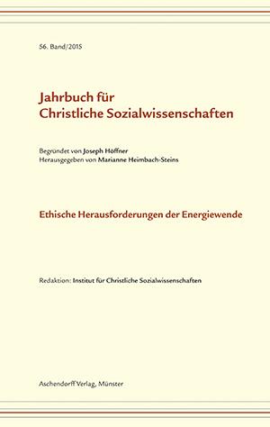 Ansehen Bd. 56 (2015): Ethische Herausforderungen der Energiewende