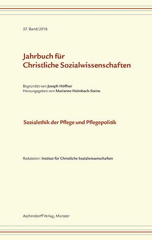 Archiv Jahrbuch Für Christliche Sozialwissenschaften