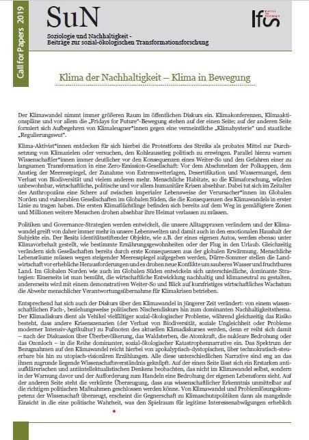 Ansehen Bd. 6 Nr. 2 (2020): Klima der Nachhaltigkeit I