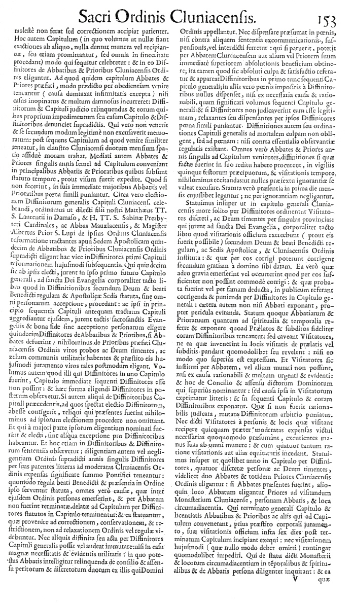 Bullarium Cluniacense p. 153     ⇒ Index privilegiorum