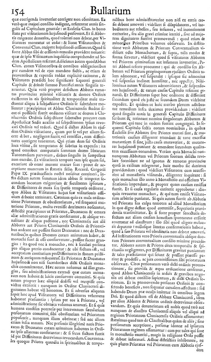 Bullarium Cluniacense p. 154   ⇒ Index privilegiorum