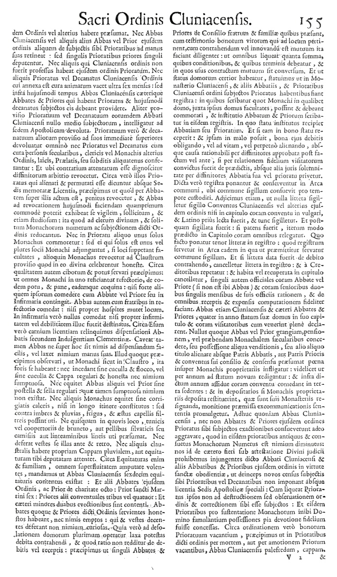 Bullarium Cluniacense p. 155     ⇒ Index privilegiorum