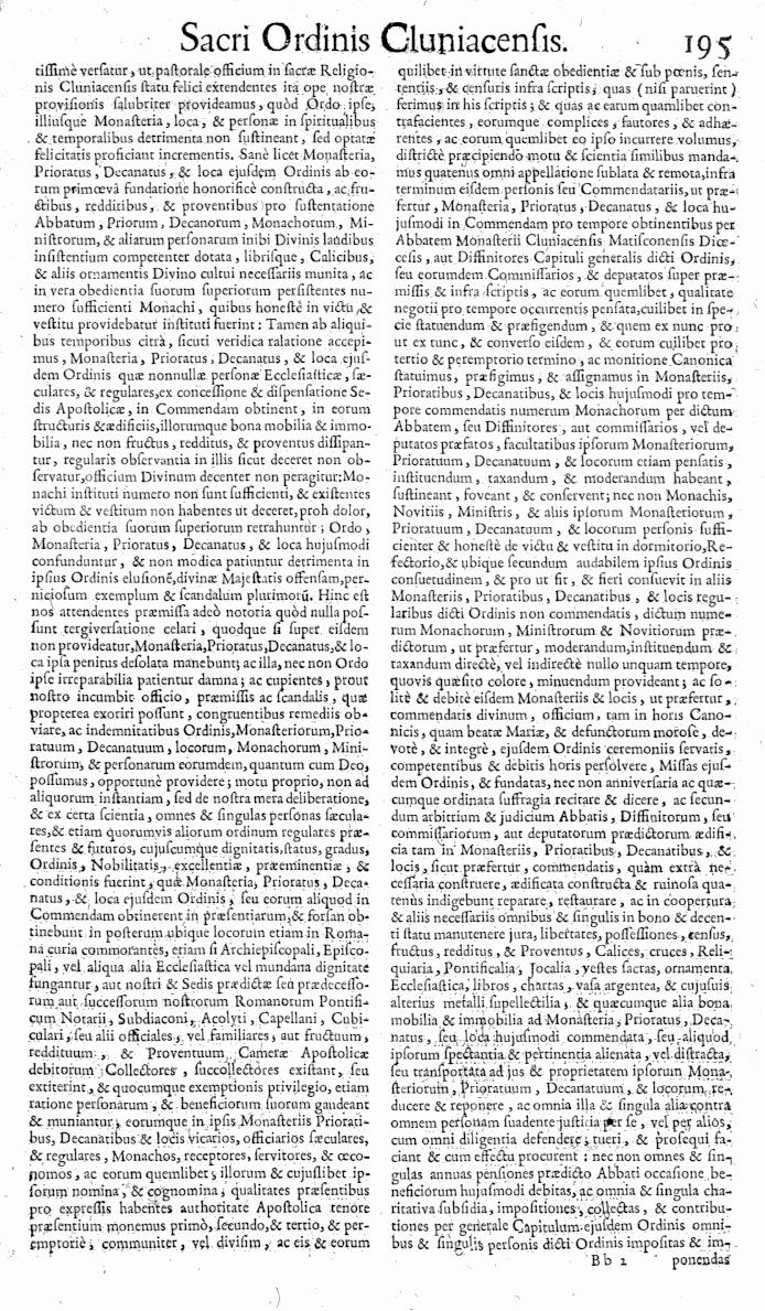 Bullarium Cluniacense p. 195   ⇒ Index privilegiorum