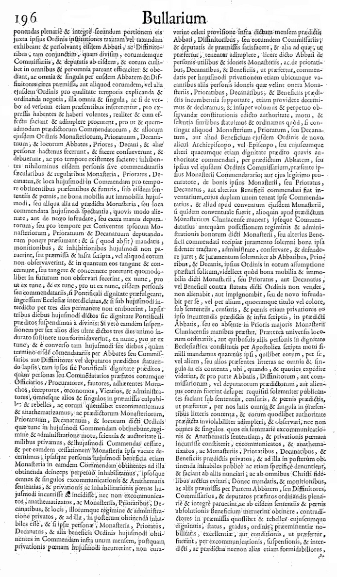 Bullarium Cluniacense p. 196     ⇒ Index privilegiorum