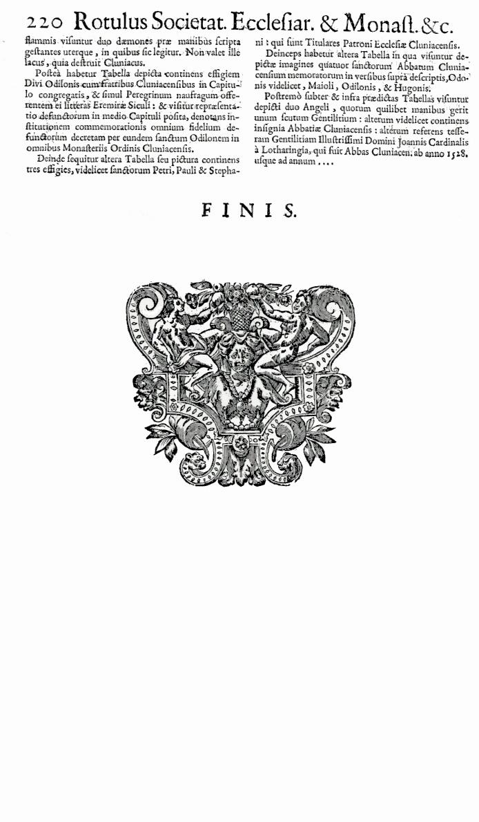 Bullarium Cluniacense p. 220b   ⇒ Index privilegiorum