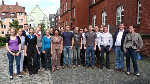 Die teilnehmer des seminars it recht mit sandra heuser microsoft