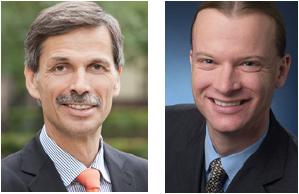 Wirtschaftswissenschaftler Prof. Dr. J�rg Becker und PD Dr. Patrick Delfmann