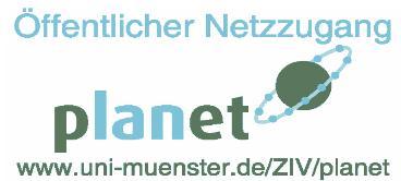 pLANet-Logo im Aufkleber-Format