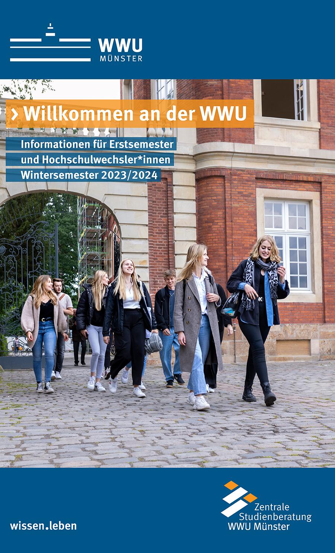 Titelblatt - Informationen zum Studienbeginn