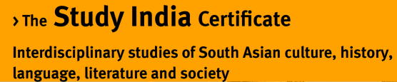 The Study India Certificate