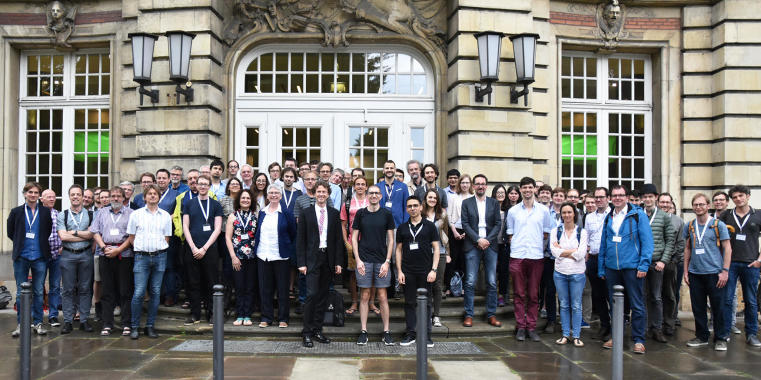 "The new Cluster of Excellence ""Mathematics Münster: Dynamics - Geometry - Structure"" celebrated its start with a three-day colloquium."