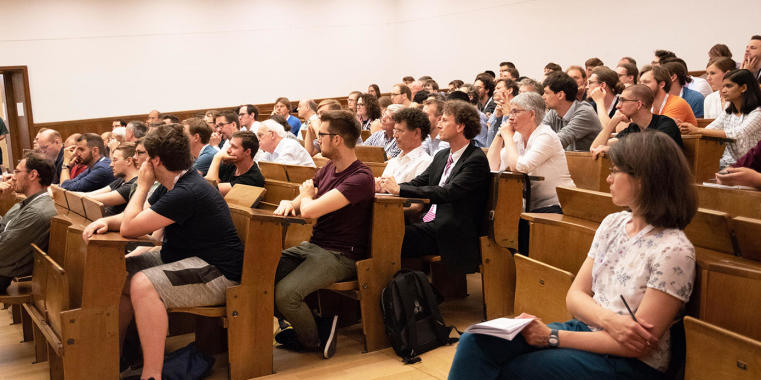 The Opening Colloquium was a first important step toward strengthening the interplay between mathematical disciplines.