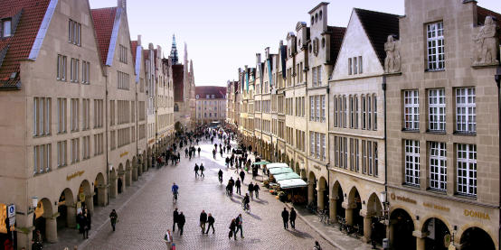 Münster city centre