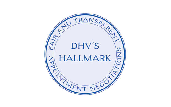 DHV seal of quality