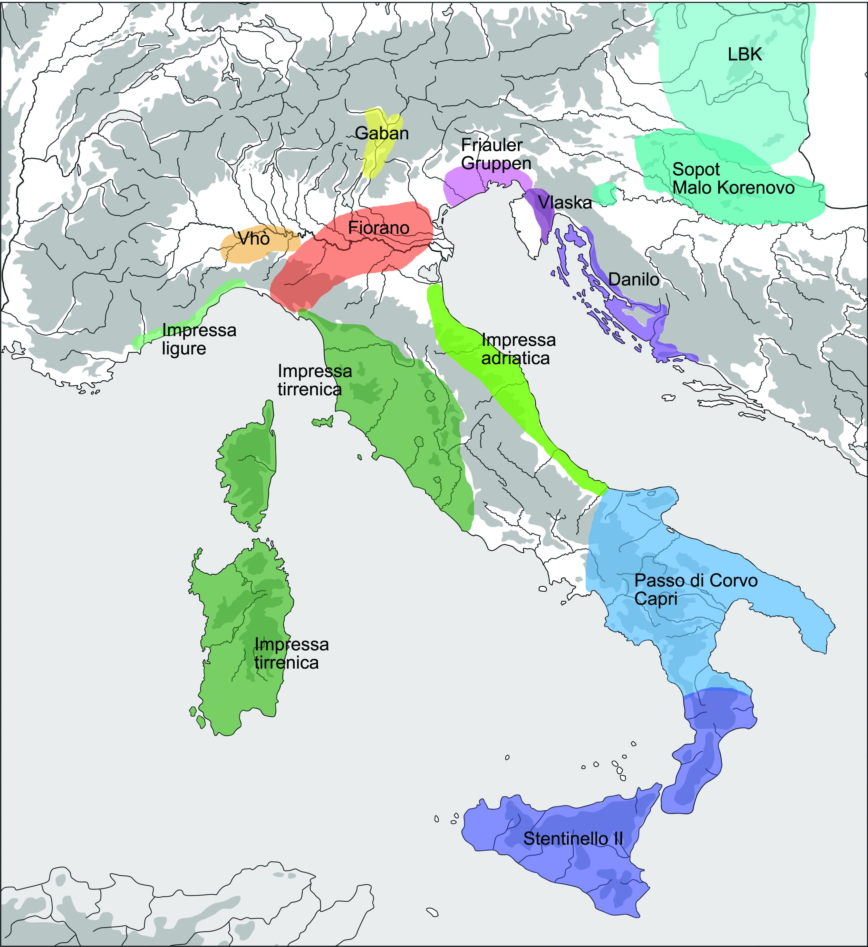 Italien klimazone