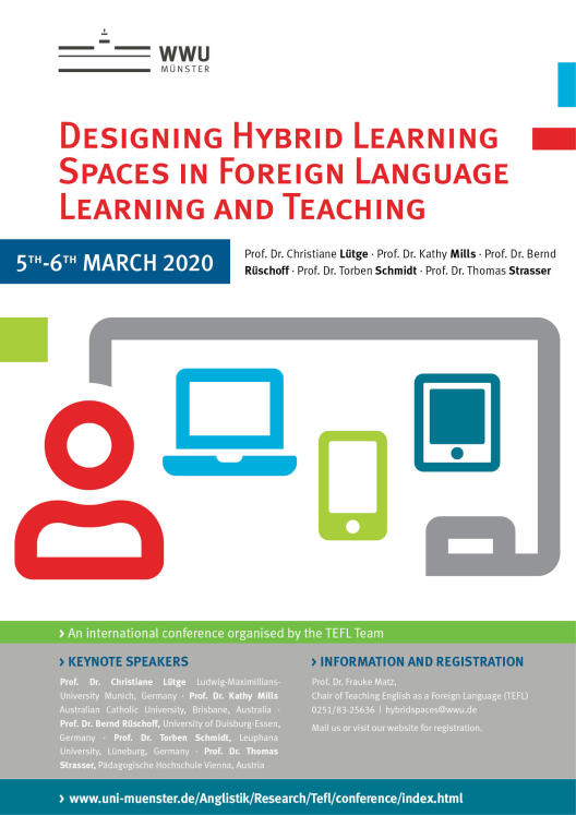 Poster Designing Hybrid Learning Spaces