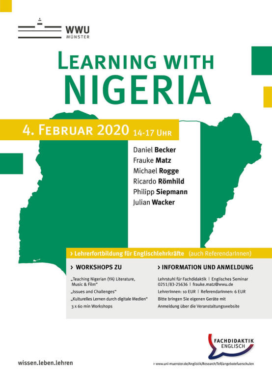 Learning with Nigeria poster