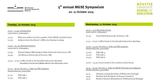 Mgse Symposium 2015 Program Thumbnail