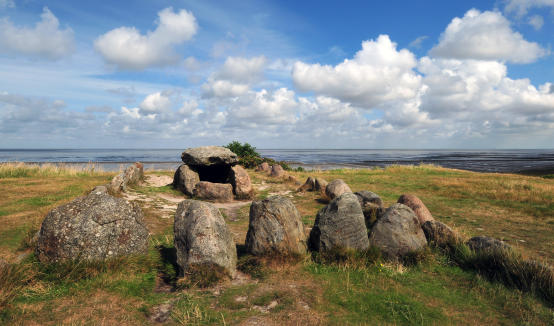 Megalithic Grave Harhoog In Keitum _sylt _germany