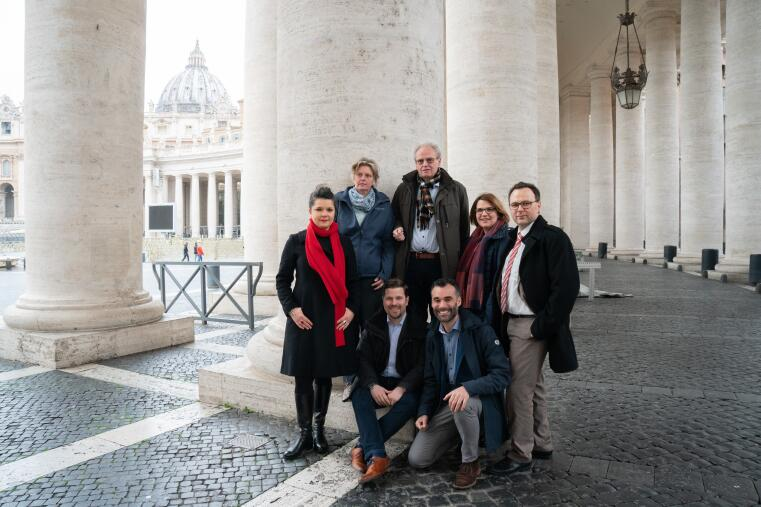 Research team in Rome