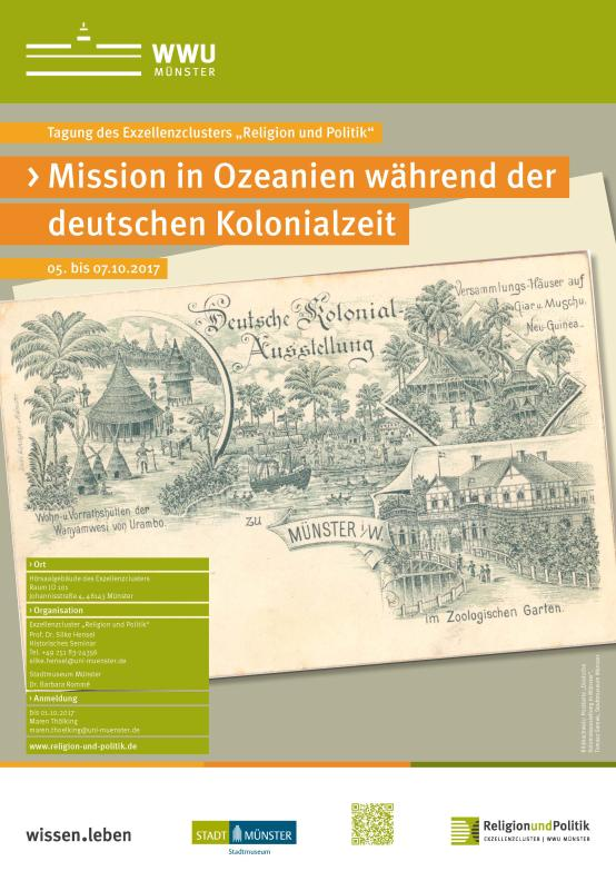 Mission In Ozeanien Plakat 170831