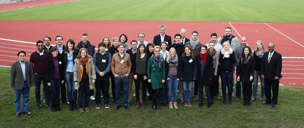 The speakers and participants of the Late Autumn School 2013