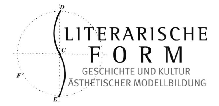 Research Training Group Literary Form.  History and Culture of Aesthetic Modelling