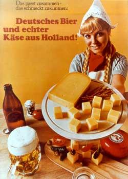 Das passt zusammen: Hollandse Käse und deutsches Bier