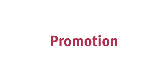 Text: Promotion