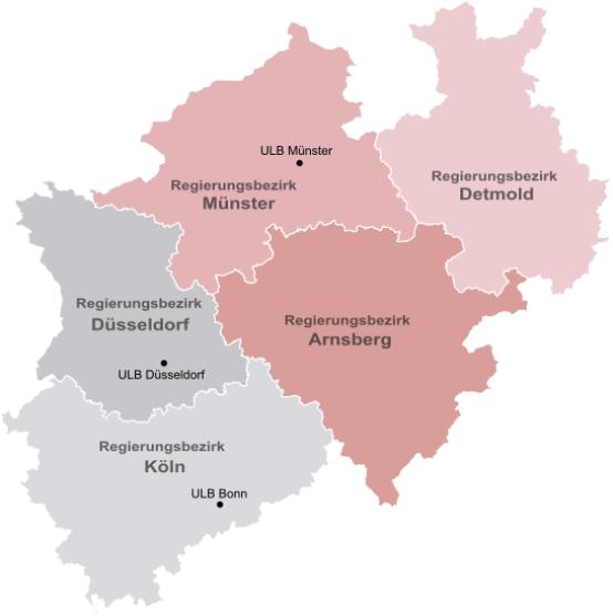 Karte Von Nrw.Ulb Landesbibliothek über Die Landesbibliothek