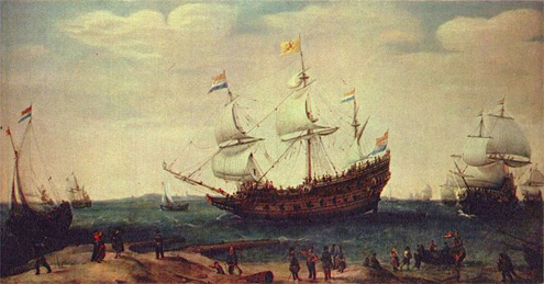 Asiatischer Handel im 16. Jahrhundert