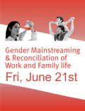 SFB 858 Gender Mainstreaming & Reconciliation of Work and Family life