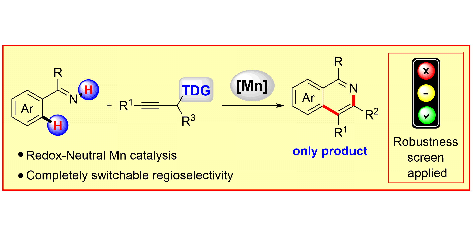 Redox-Neutral Manganese(I)-Catalyzed C–H Activation: Traceless Directing  Group Enabled Regioselective Annulation, Angew. Chem. Int. Ed. 2017, 56, ...