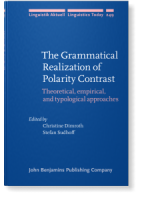 Cover Grammatical Realization of Polarity Contrast