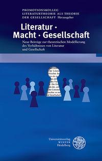 LiteraturMachtGesellschaft Publikation Gs Pol