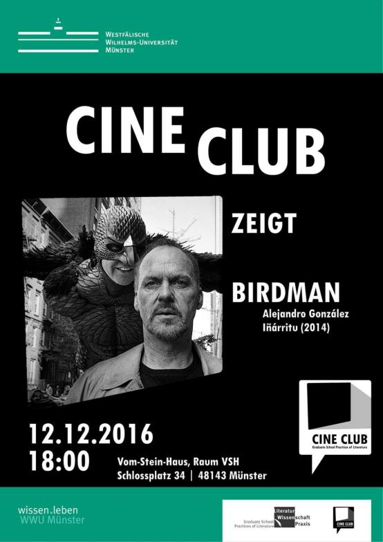 The Cine Club's first film screening