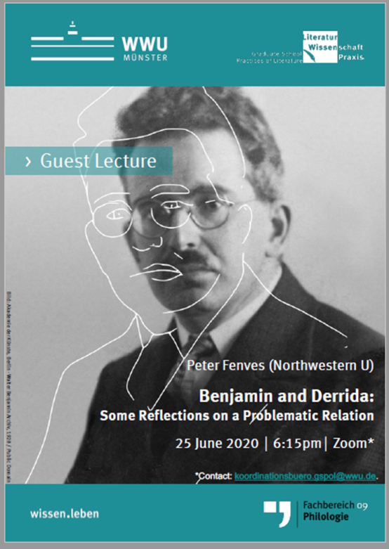 Poster for the talk of Prof. Fenves