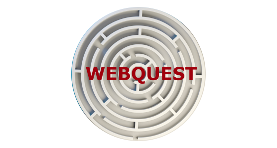 Webquest Webseite Grafik