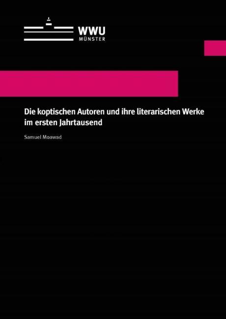 """Cover des Buches """"Die koptischen Autoren und ihre literarischen Werke im ersten Jahrtausend"""""""