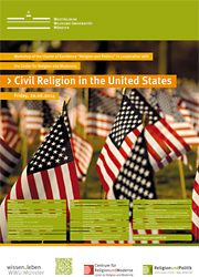 "Plakat des Workshops ""Civil Religion in the United States"""
