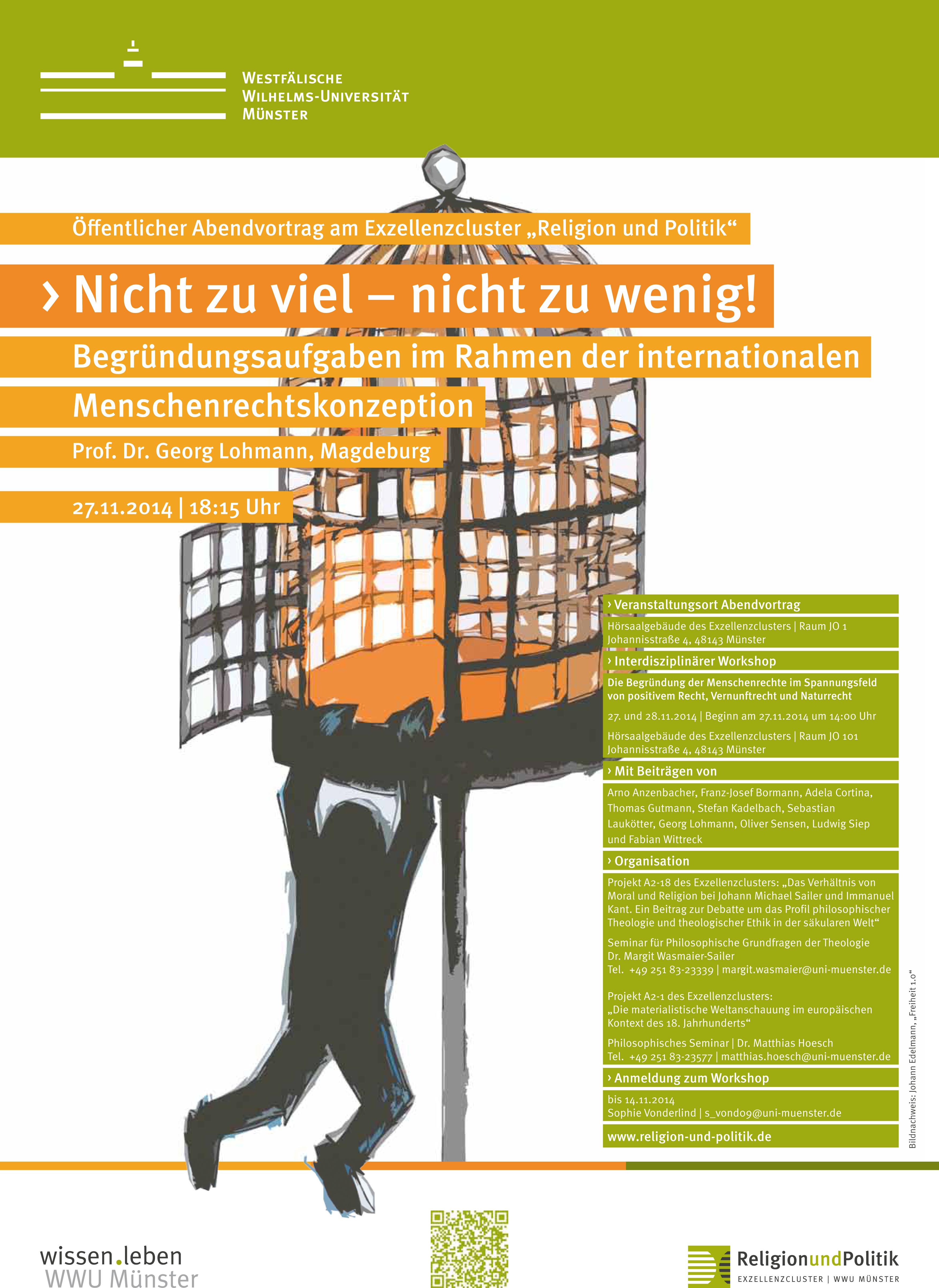 "WWU Münster > Religion & Politik > Aktuelles >News Workshop ""Die ..."