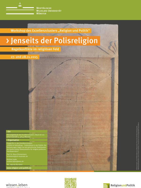WWU Münster > Religion & Politik > Aktuelles >News Tagung Polisreligion