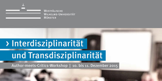 News Workshop Interdisziplinaritaet Und Transdisziplinaritaet 2 1