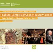 Vortragsreihe Cultural Contexts Of Gender Based Violence Plakat Web 1 1