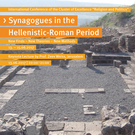 News Tagung Synagogues In The Hellenistic-roman Period 1 1