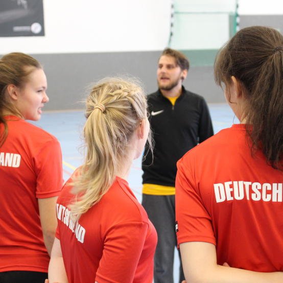 Performance measurements with beachhandball national teams