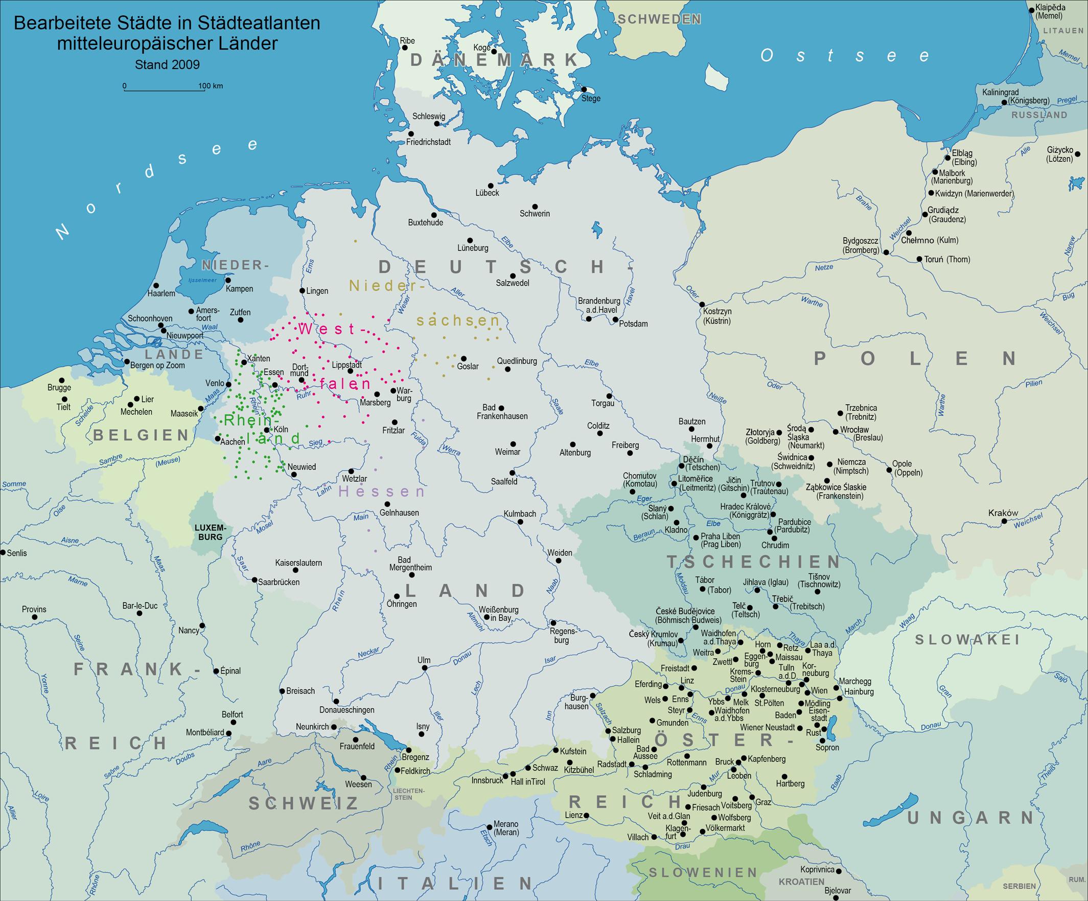 Karte Von Europa Mit Städten.Karte Europa Städte