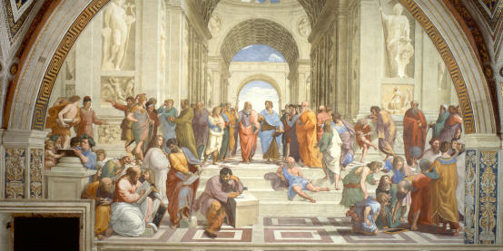 Illustration: Raphael - Philosophenschule