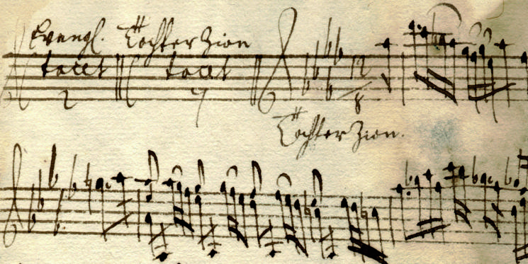 Telemann: Brockes-Passion, Detail